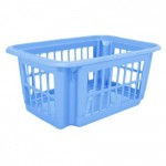 Корзина для хранения 10 л Алеана 122058 Голубой Лед