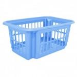 Корзина для хранения 18 л Алеана 122059 Голубой Лед
