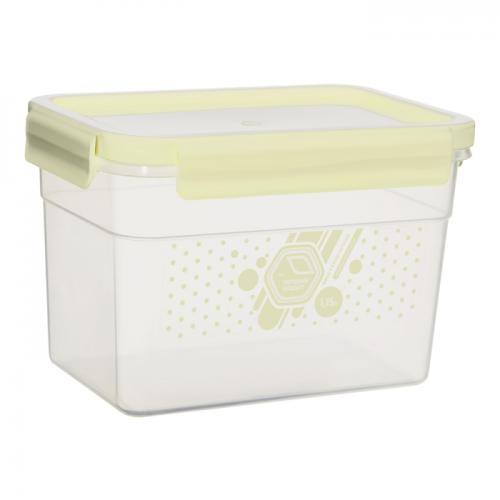Герметичний контейнер Народний продукт 1,1 л Крем