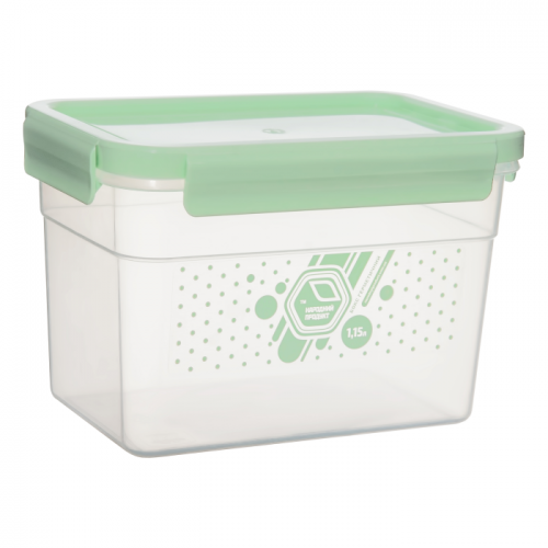 Герметичний контейнер Народний продукт 1,15 л М`ята