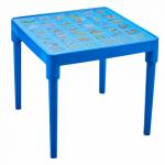 Стол детский Алеана Алфавит английский Голубой