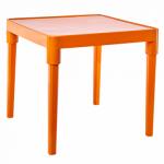 Стол детский Алеана Оранжевый