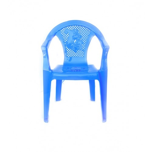 Детское кресло Полимерагро Голубой
