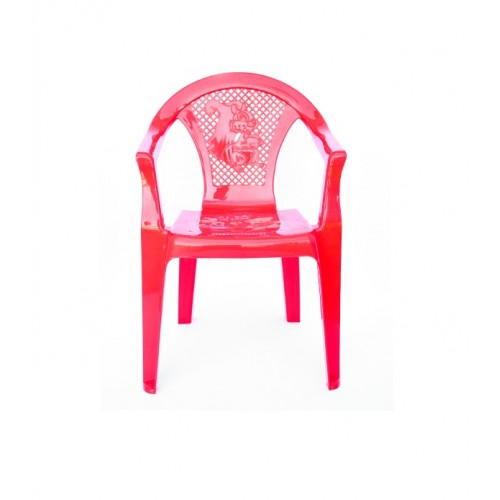 Детское кресло Полимерагро Красный