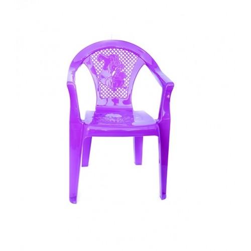Дитяче крісло Полимерагро Пурпурний