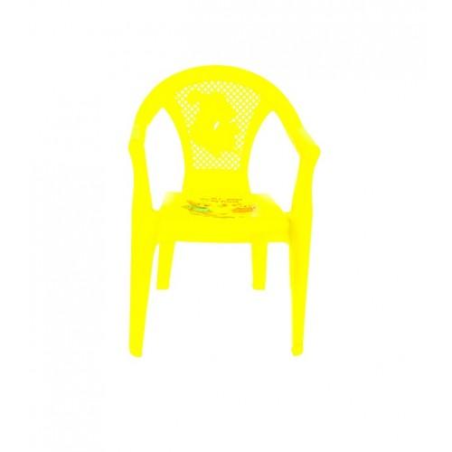 Детское кресло Полимерагро Жетлтый
