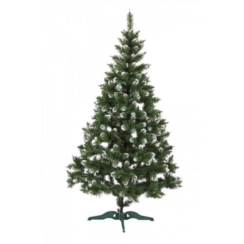 Елка Лидия зеленая с белыми кончиками 1,5 м