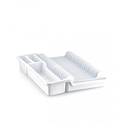 Сушка для посуды раздвижная Dunya 07101-100 Белый
