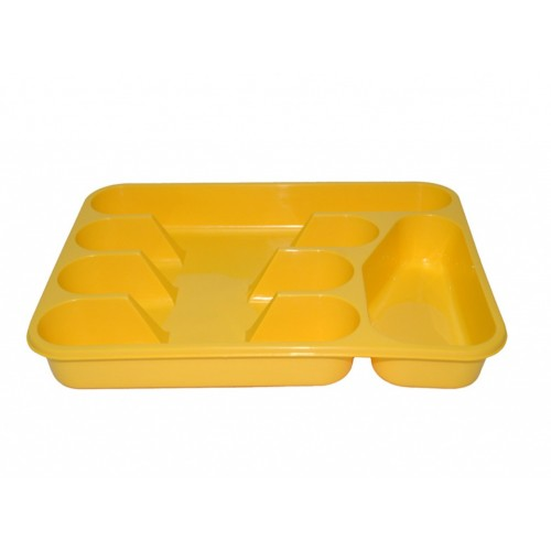 Лоток для столовых приборов Lamela Жёлтый