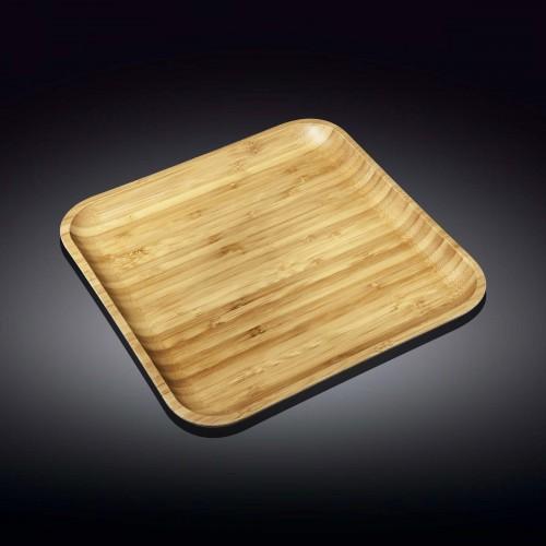 Блюдо квадратное Wilmax Bamboo WL-771026