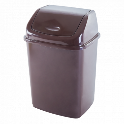 Ведро для мусора Алеана 10 л 122063 Коричневый