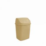 Відро для сміття Алеана 10 л 122063 Кремовий