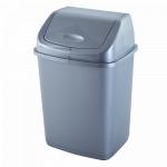 Ведро для мусора Алеана 5 л 122061 Серый