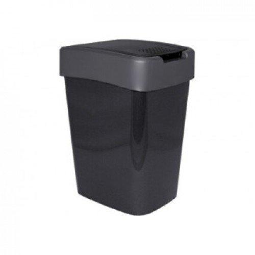 Відро для сміття 45 л Алеана Євро 123068 Граніт-Сірий