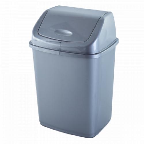 Відро для сміття Алеана 5 л 122061 Сірий