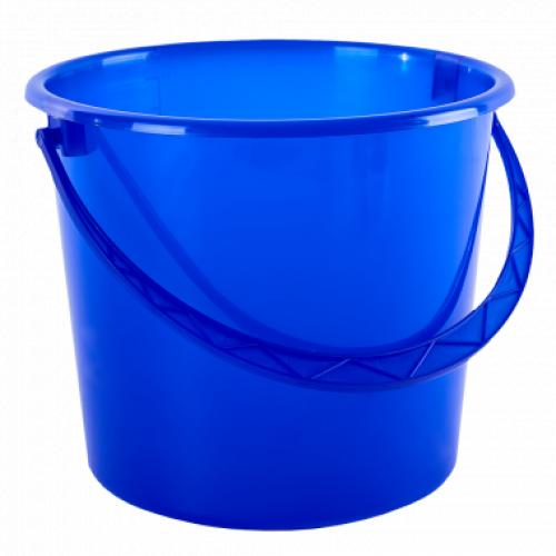 Ведро пищевое с крышкой Алеана 10 л Синий
